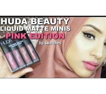 Huda Beauty LIPSTICK Pink Edition লিপস্টিক (Italy)
