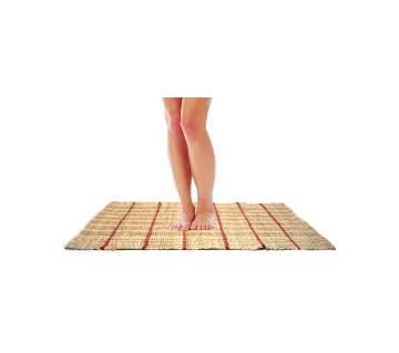 Natural Jute Floor Rug 50 x 85 cm