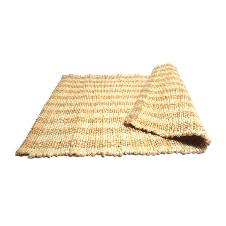 Natural Jute Floor Rug 50 x 80 cm