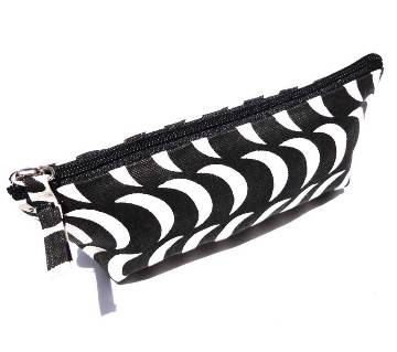 Striped pencil bag