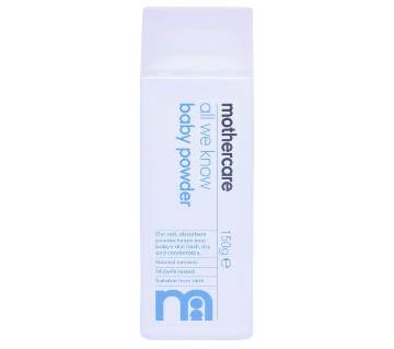 Mothercare All We Know Baby Powder 150g
