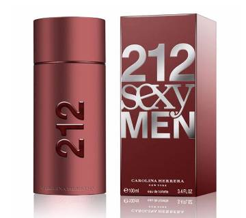 Carolina Herrera 212 Sexy EDT For Men - 100ml