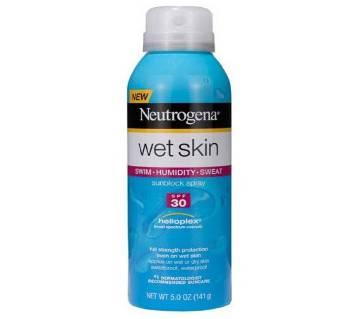 Neutrogena WetSkin সানব্লক স্প্রে SPF30 ওয়াটারপ্রুফ 141g - U