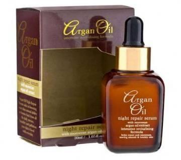 Moroccan Argan Oil Extract Night Repair Serum 30ml - UK