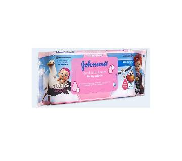 Johnsons Baby Wipes Gentle All Over 56 Pack - UK