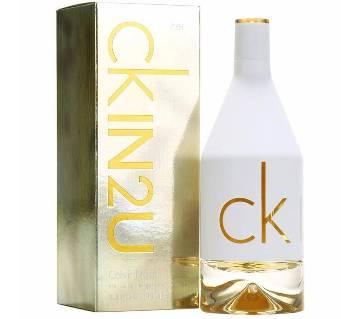 Calvin Klein CK IN2U Ladies Perfume - 100ml