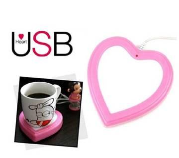 Love shaped USB cup warmer
