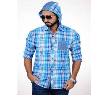 XIAZ Casual Hoodie Shirt For Men