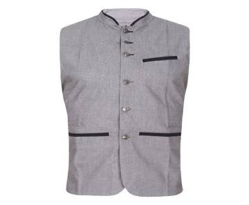 XIAZ Cotton Casual Ethnic Vest For Men