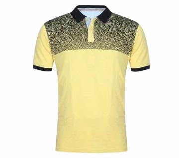 XIAZ Cotton Half Sleeve Polo Shirt For Men