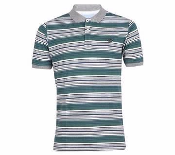 XIAZ Cotton Half Sleeve Polo Shirt For Men