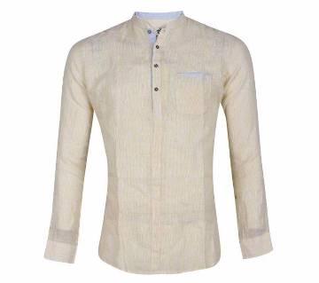XIAZ Full Sleeve Cotton Casual Shirt For Men