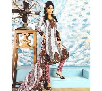 Indian Unstitched Georgette Three Piece - Copy