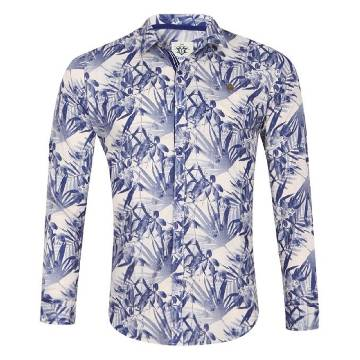 XIAZ Full Sleeve Cotton Shirt For Men