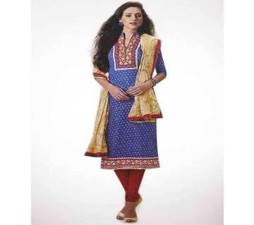 Unstitched Indian Georgette Three-Piece