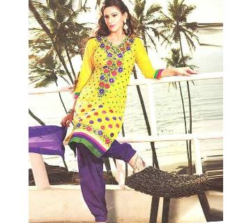 Unstitched Indian Georgette Three-Piece