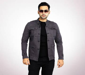 Ash Black twill Casual jacket