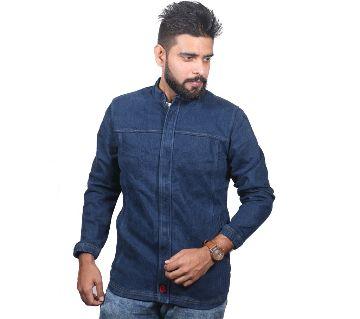 Gents Denim Stretch Jacket For Men