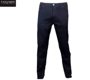 Black Super Stretch Jeans Pant