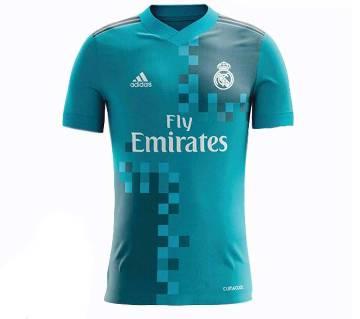 Real Madrid 2017-18 হাফ স্লিভ জার্সি