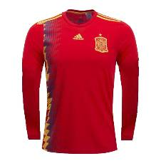 Spain Full Sleeve Home Jersey