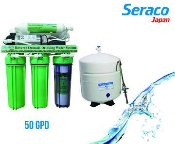 Seraco Japan 50 GPD (RO) ওয়াটার পিউরিফায়ার মেশিন