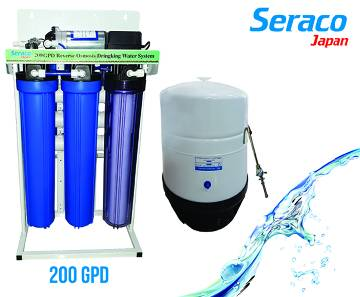 Seraco Japan 200 Gpd (RO) Water Purifier