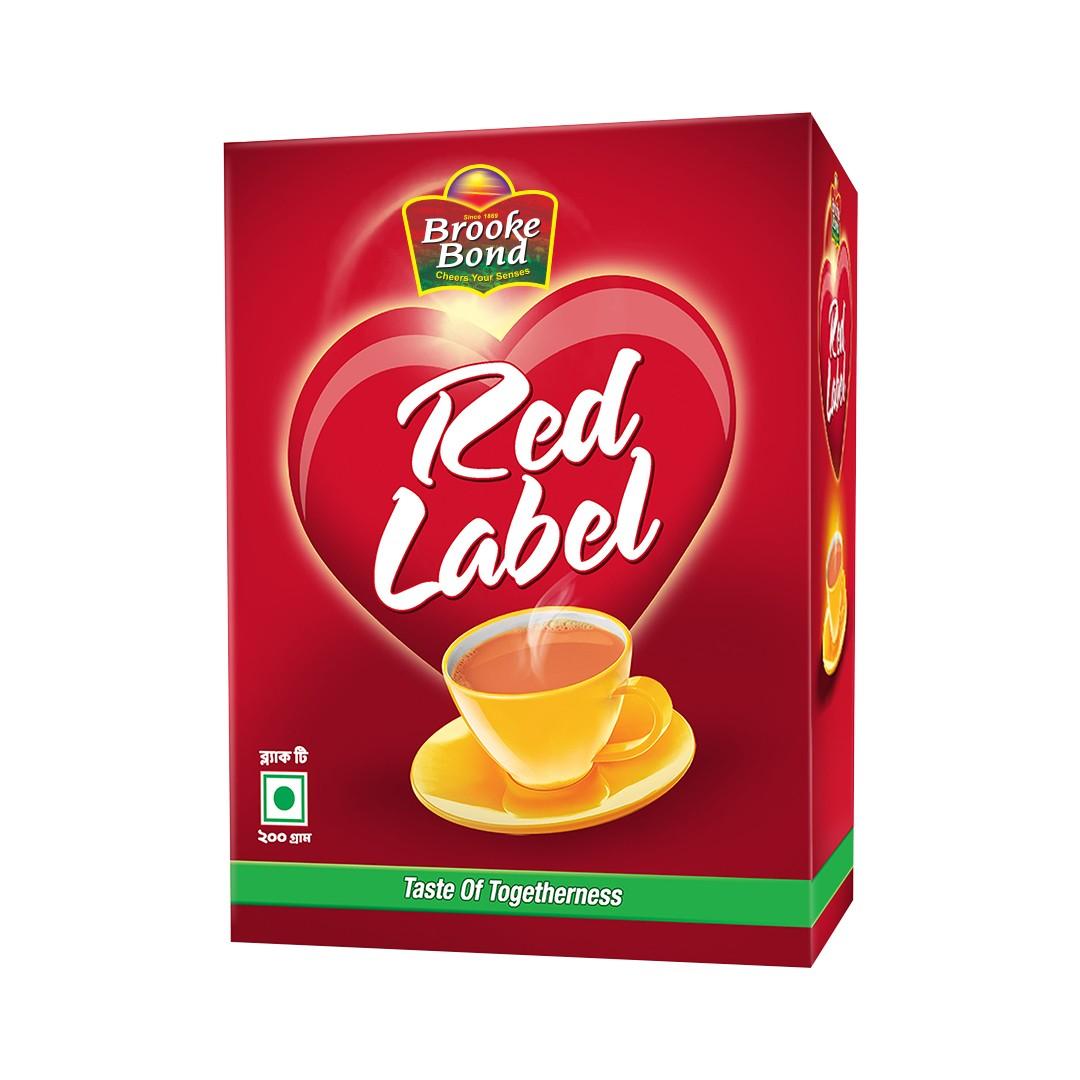 Red Label Black Tea 200 gm