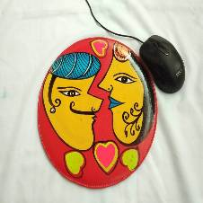 Rickshaw Painted Mouse Pad