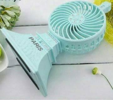 paris eiffel tower Mini Fan