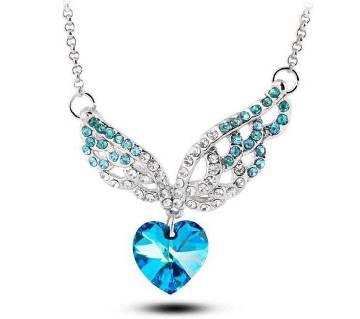 Heart Shaped Zinc Alloy Necklace