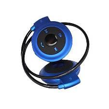 Mini 503 Wireless Sports Stereo Headset - Blue