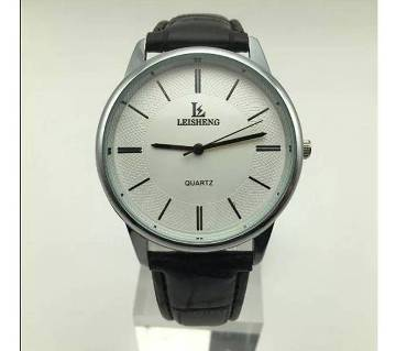 Quartz Watches Genuine Leather Casual for Man