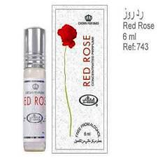 Al Rehab Perfume Red Rose 6ml Saudi Arabia