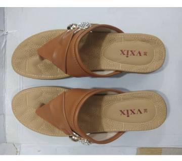 Ladies PU Flat Sandals