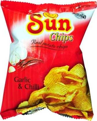 Sun Chips Garlic & Chilli 22 gm