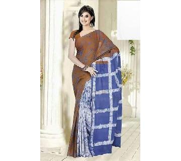 Multi Color Cotton saree