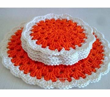 Crochet প্লেস ম্যাট