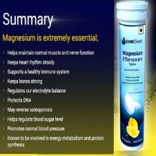 Magnesium Effervescent (800mg) - India