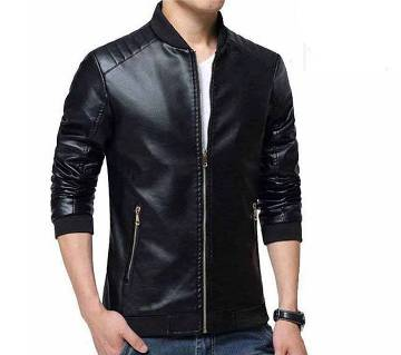 Mens Artificial Leather Jacket