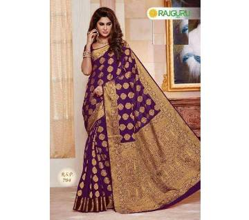 ইন্ডিয়ান RAJGURU সিল্ক কাতান শাড়ি বাংলাদেশ - 6092471