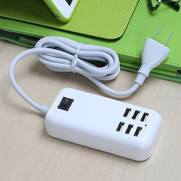 ৬ পোর্টের USB চার্জার