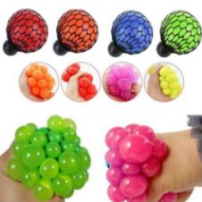 Stress Relief Squeezing Soft Rubber Vent Grape Ball Hand Wrist Toy