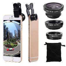 Universal 3 In 1 Clip Lens For Smartphone