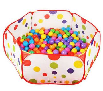 Babys tent house with 50 balls