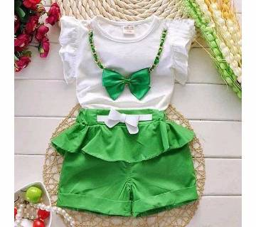 Imported Kids Cotton Dress Set