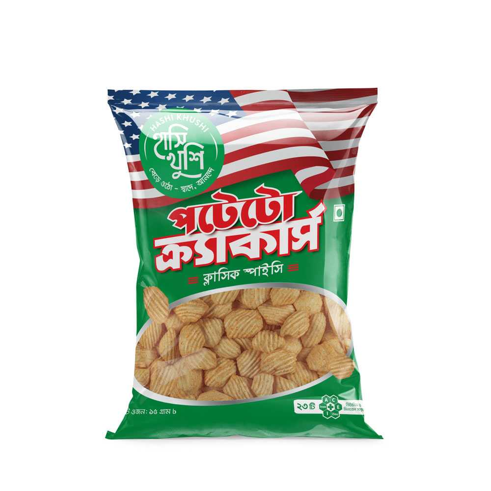 Hashi Khushi Potato Crackers 15 gm