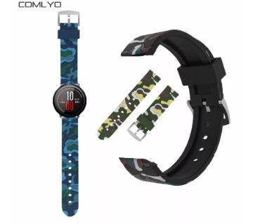 Rubber Strap For Amazfit Pace Stratos