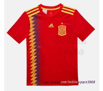 Spain Kid jersey Home 2018 with shorts