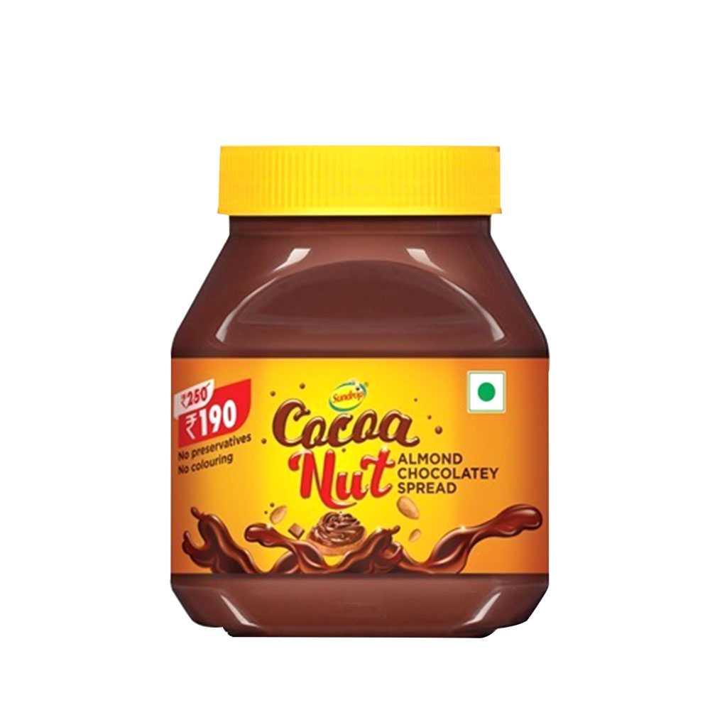 Sundrop Chocolatey Cocoa Nut Almond 350 gm